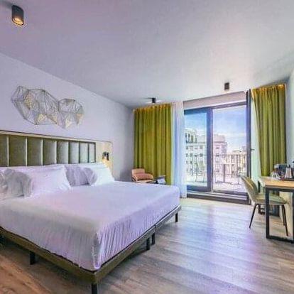 Budapešť přímo v samotném centru v luxusním Hotelu Barceló **** se snídaněmi, welcome drinkem a fitness