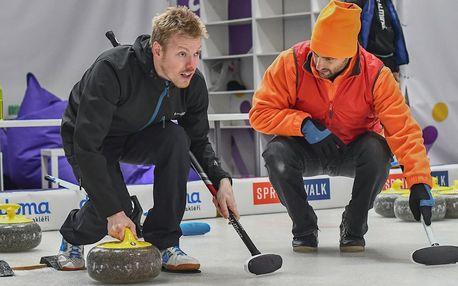 2hod. curlingové lekce pro začátečníky i zkušené