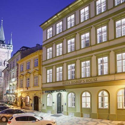 Romantický pobyt v luxusním hotelu u Karlova mostu - dlouhá platnost poukazu