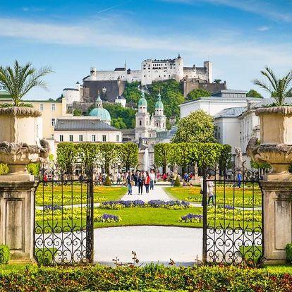 Romantický pobyt v Salzburgu v designovém hotelu 3 dny / 2 noci, 2 os., snídaně