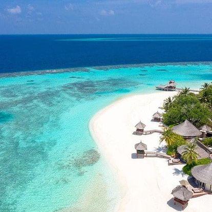 Maledivy - Severní Atol Male letecky na 9 dnů