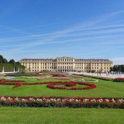 Fantastické ubytování ve Vídni u Schönbrunnu 3 dny / 2 noci, 2 osoby, snídaně