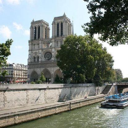 Romantický víkend v Paříži v moderním hotelu - dlouhá platnost poukazu