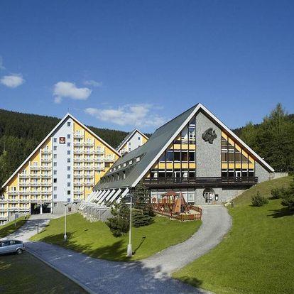 Luxusní wellness pobyt s bazénem a saunou ve Špindlu - dlouhá platnost poukazu