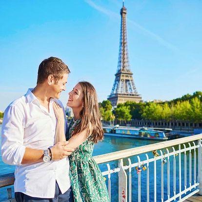 Kouzelný víkend v Paříži v hotelu se skvělou polohou - dlouhá platnost poukazu