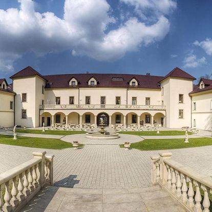 Gurmánský pobyt na zámku Chateau Kynšperk s polopenzí & wellness - dlouhá platnost poukazu