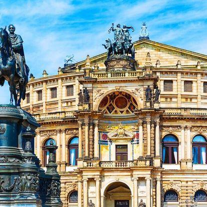 Výlet do Drážďan: výhodné nákupy, noční život a ubytování za TOP cenu - dlouhá platnost poukazu