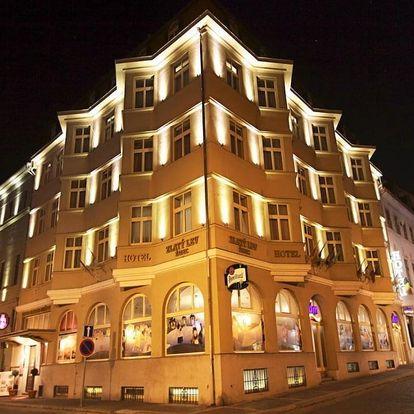 Luxusní ubytování a wellness v centru královského města Žatce - dlouhá platnost poukazu