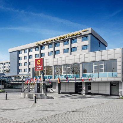 Ostrava: bohatý noční život a moderní 4* Clarion Hotel 3 dny / 2 noci, 2 os., snídaně