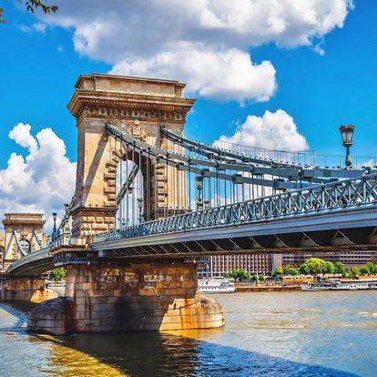 Nezapomentutelný výlet do Budapešti + 1x večeře - dlouhá platnost poukazu