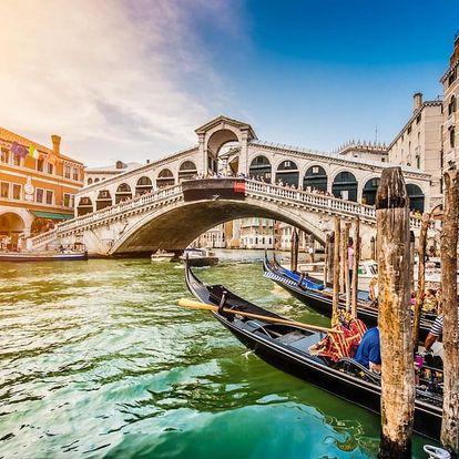 Romantický pobyt v Benátkách v moderním hotelu 3 dny / 2 noci, 2 osoby, snídaně
