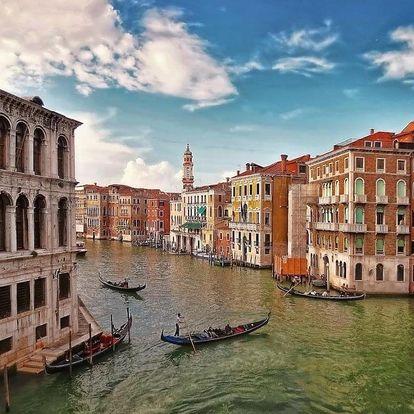 Sladký život v Benátkách 3 dny / 2 noci, 2 os., snídaně