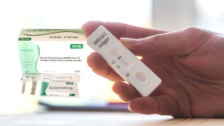 Až 25 ks rychlých antigenních testů pro výtěr z nosu i ze slin