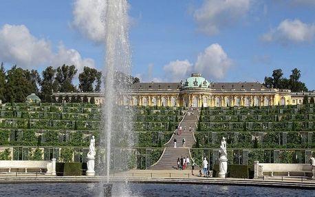 Postupim a romantický zámek Sanssouci nedaleko Berlína - dlouhá platnost poukazu
