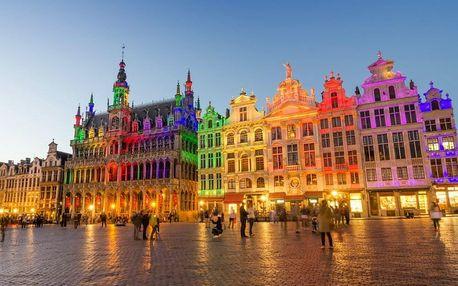 Perfektní výlet do Bruselu: Prvotřídní komfort v srdci populární Evropské čtvrti se 100% hodnocením - dlouhá platnost poukazu
