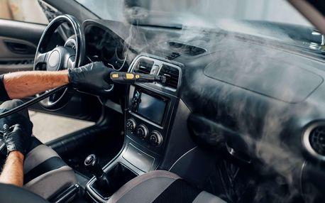 Mobilní parní mytí vašeho vozu přímo u vás doma - Praha aokolí do 15 km