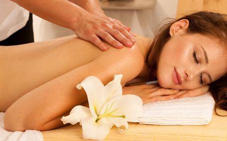 Skvělý relax: 60 či 90 minut masáže dle výběru