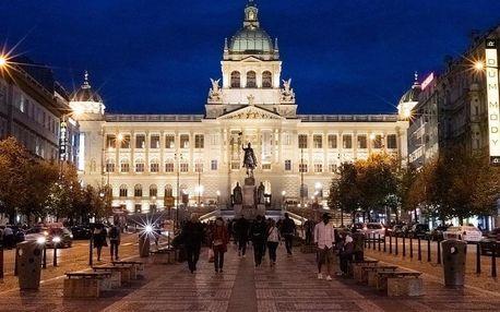 Designový hotel s nejlepším umístěním v Praze – přímo na Václavském náměstí - dlouhá platnost poukazu