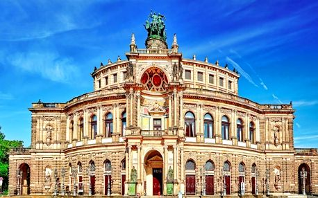 Výlet do Drážďan: výhodné nákupy, noční život & ubytování za TOP cenu - dlouhá platnost poukazu