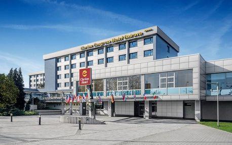 Ostrava: bohatý noční život a moderní 4* Clarion Hotel 3 dny / 2 noci, 2 osoby, snídaně