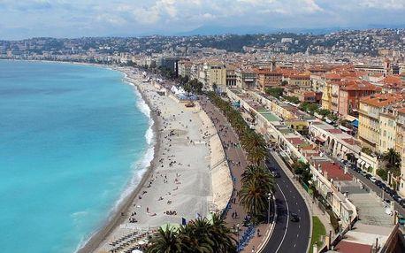 Objevte barevné město Nice na Azurovém pobřeží - dlouhá platnost poukazu