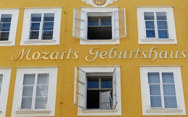 Moderní hotel v centru Salzburgu za skvělou cenu 3 dny / 2 noci, 2 os., snídaně2