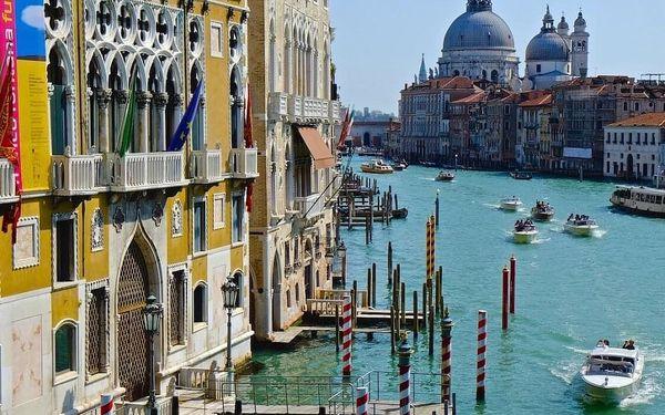 Romantický pobyt v Benátkách v moderním hotelu  3 dny / 2 noci, 2 os., snídaně2