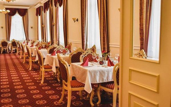 Gurmánský pobyt na zámku Chateau Kynšperk s polopenzí a wellness  3 dny / 2 noci, 2 os. , polopenze3