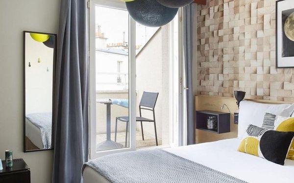 Romantický víkend v Paříži v moderním hotelu 4 dny / 3 noci, 2 os., snídaně4