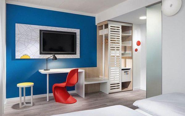 Moderní hotel se snídaní a rychlým spojením do centra  3 dny / 2 noci, 2 os., snídaně2