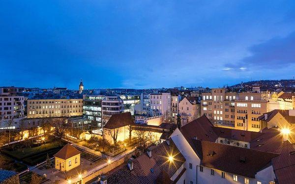 Designový hotel s nejlepším umístěním v Praze – přímo na Václavském náměstí 4 dny / 3 noci, 2 osoby, snídaně3