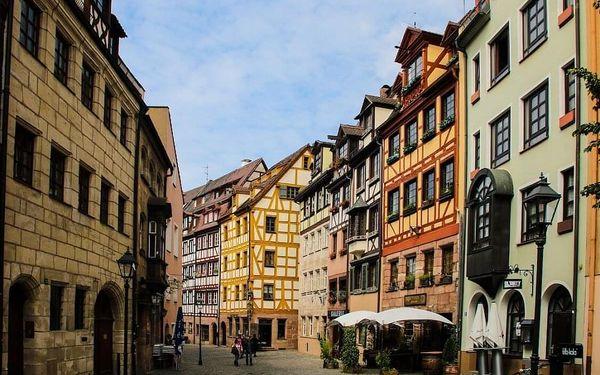 Nádherný pobyt v Norimberku – 4* hotel přímo v historickém centru s bazénem a saunou  3 dny / 2 noci, 2 os., snídaně2