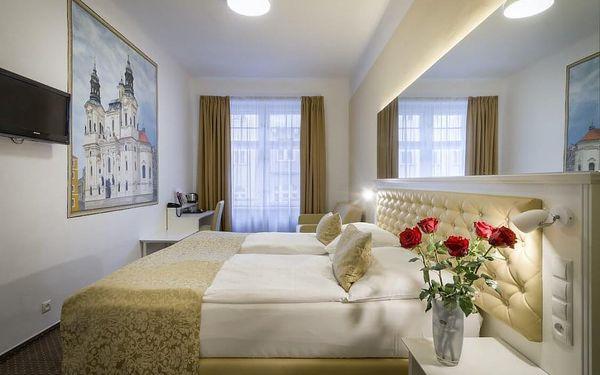 Romantický pobyt pro 2 v elegantním hotelu v centru Prahy 4 dny / 3 noci, 2 os., snídaně3
