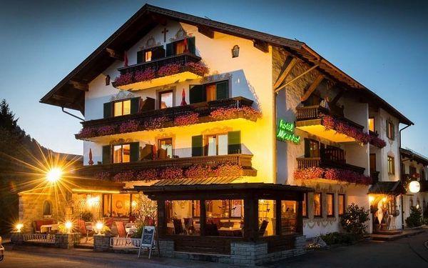 Lyžování, treking a wellness nedaleko Garmisch-Partenkirchen  3 dny / 2 noci, 2 os., snídaně3