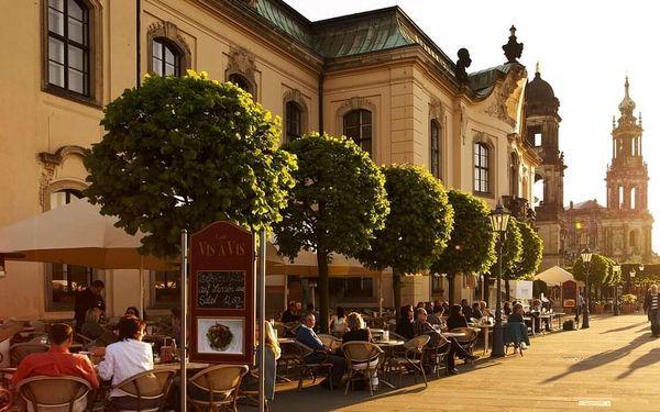 Luxusní hotel v centru Drážďan u Frauenkirche 3 dny / 2 noci, 2 os., snídaně4