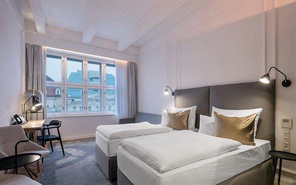 Designový hotel s nejlepším umístěním v Praze – přímo na Václavském náměstí 4 dny / 3 noci, 2 osoby, snídaně5