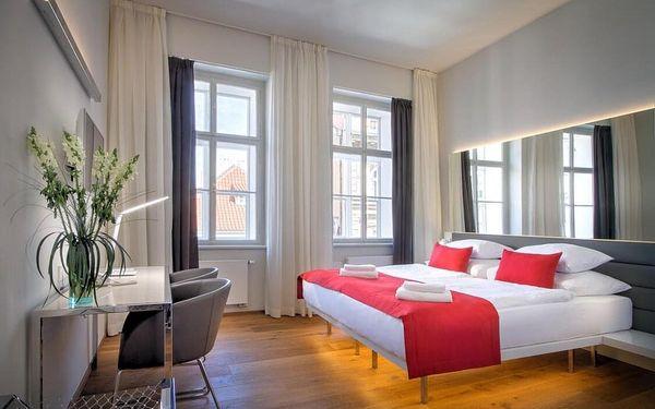 Romantický pobyt v luxusním hotelu u Karlova mostu 4 dny / 3 noci, 2 osoby, snídaně5
