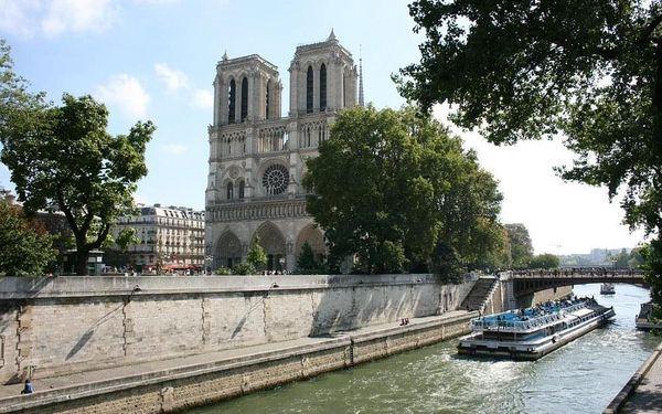 Romantický víkend v Paříži v moderním hotelu 3 dny / 2 noci, 2 os., snídaně