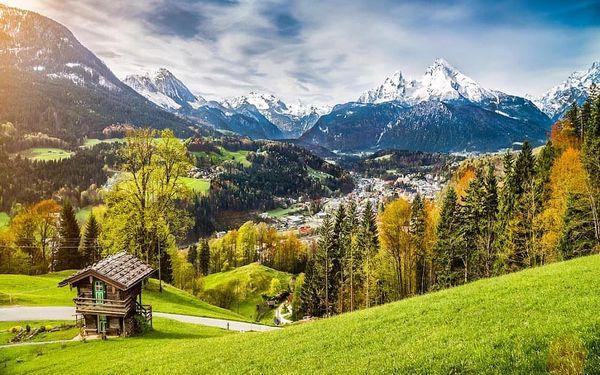 Alpy a Garmisch-Partenkirchen: lyžování, wellness vč. POLOPENZE 3 dny / 2 noci, 2 os., polopenze