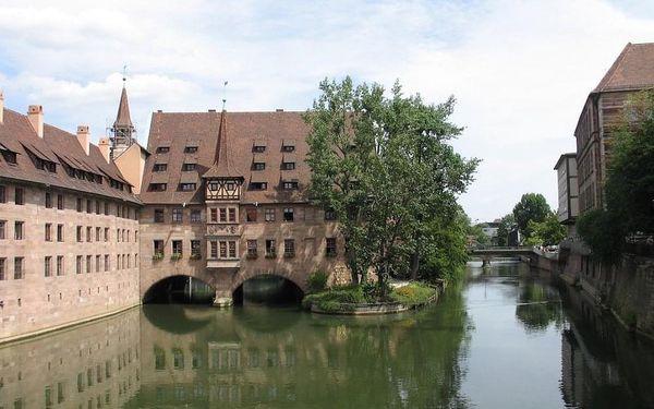 Nádherný pobyt v Norimberku – 4* hotel přímo v historickém centru s bazénem a saunou  3 dny / 2 noci, 2 os., snídaně5