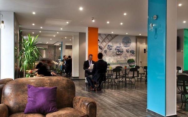 Romantický pobyt v Paříži v hotelu se 100% doporučením  3 dny / 2 noci, 2 os., snídaně5