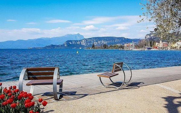 Lago di Garda  vysněná dovolená přímo na břehu jezera  3 dny / 2 noci, 2 os., snídaně3