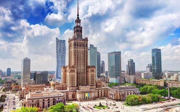 Vzrušující pobyt ve Varšavě ve zbrusu novém A&O Hotelu - dlouhá platnost poukazu