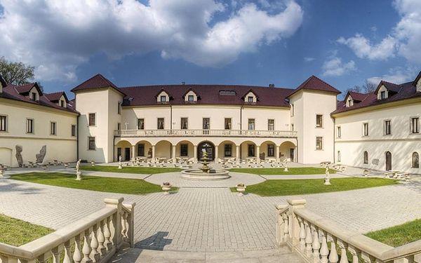 Gurmánský pobyt na zámku Chateau Kynšperk s polopenzí a wellness - dlouhá platnost poukazu