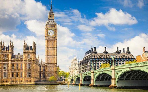 Londýn: pobyt v luxusním hotelu s TOP polohou u Hyde Parku 3 dny / 2 noci, 2 os., snídaně