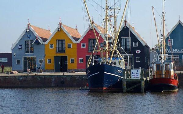 Poznejte Holandsko  větrné mlýny, lány tulipánů a vynikající sýr  3 dny / 2 noci, 2 os., snídaně5