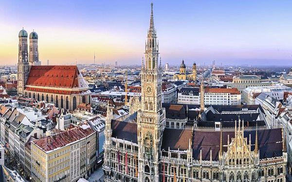 Víkend v Mnichově: bavorská metropole i odpočinek v přírodě - dlouhá platnost poukazu