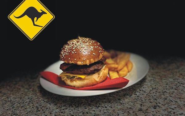 Burger Kangaroo Bacon pro 1 osobu5