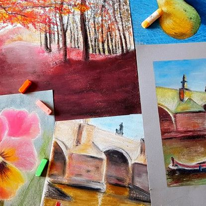 Objevte v sobě umělce: balíček 2 online kurzů kreslení