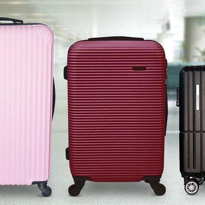 Kvalitní skořepinové kufry ve třech velikostech
